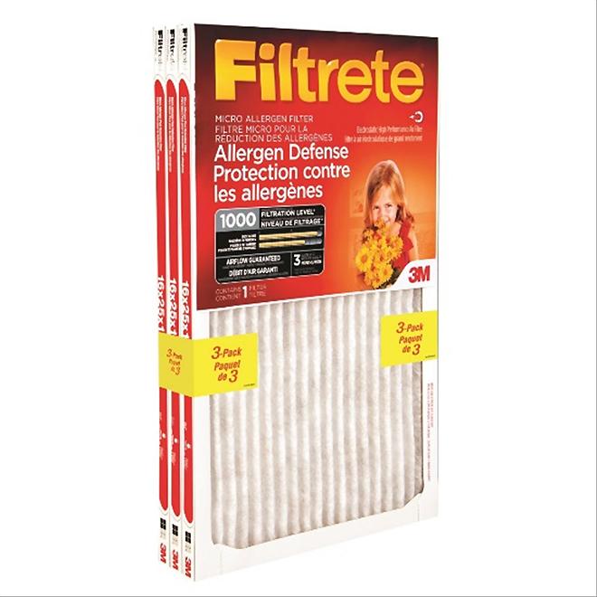 """Filtrete Furnace Filter - 20"""" x 20"""" - 3-Pack"""