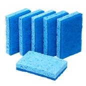 Scrub Sponges - All-Purpose - No-Scratch - Cellulose - 6/Pk