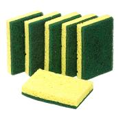 "Scrub Sponge - 4.5"" x 2.7"" - Heavy-Duty - Cellulose - 6/Pk"