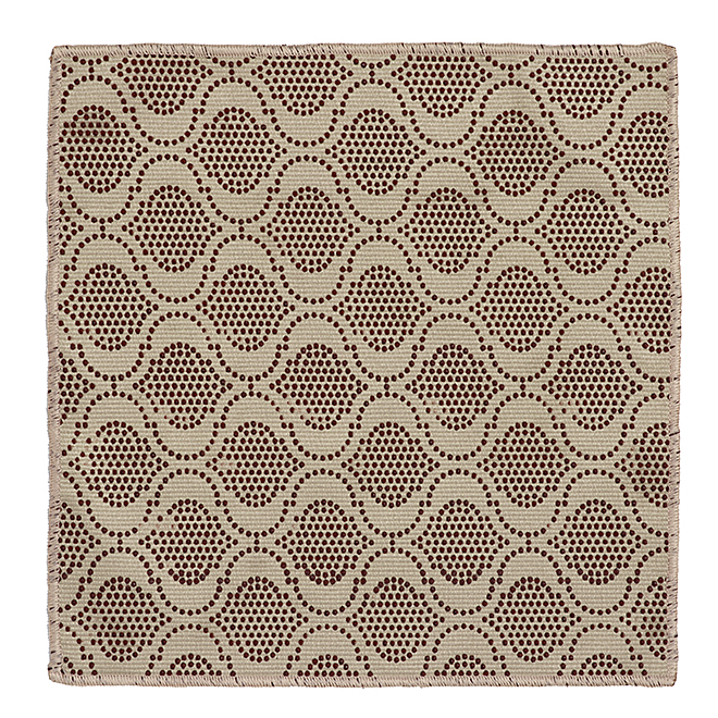 "Scrubbing Dishcloth - 11"" x 11"" - Fabric - Beige and Brown"