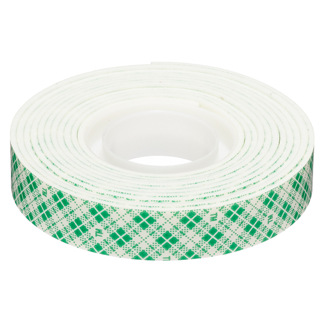 Double-Coated Mounting Tape - White