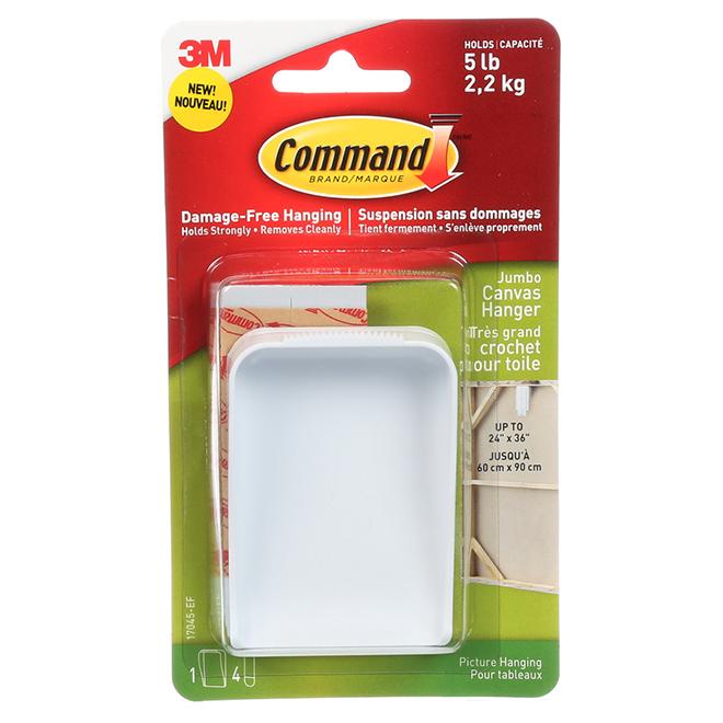 Canvas Hanger - Jumbo - 5 lb - White