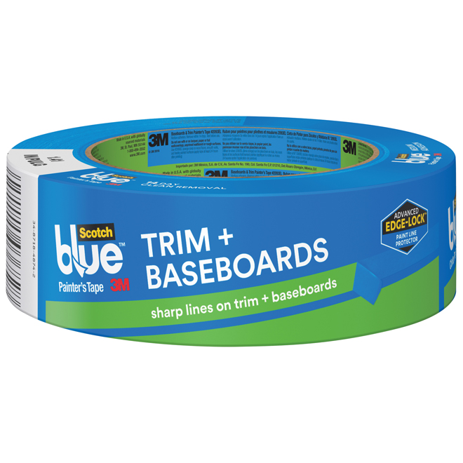 Painter's Tape - Trim and Baseboards - 36 mm - Blue