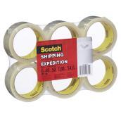 Ruban d'expédition Scotch, 5 cm x 50 m, clair