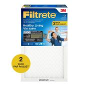 Filtre à air Filtrete Maximum, 16 po x 25 po x 1 po, 2/pqt