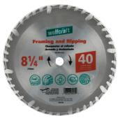 "Framing Circular Saw Carbide Blade - 8 1/4"" - 40TH"