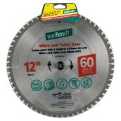 "Mitre and Table Saw Carbide Blade - 12"" - 60TH"