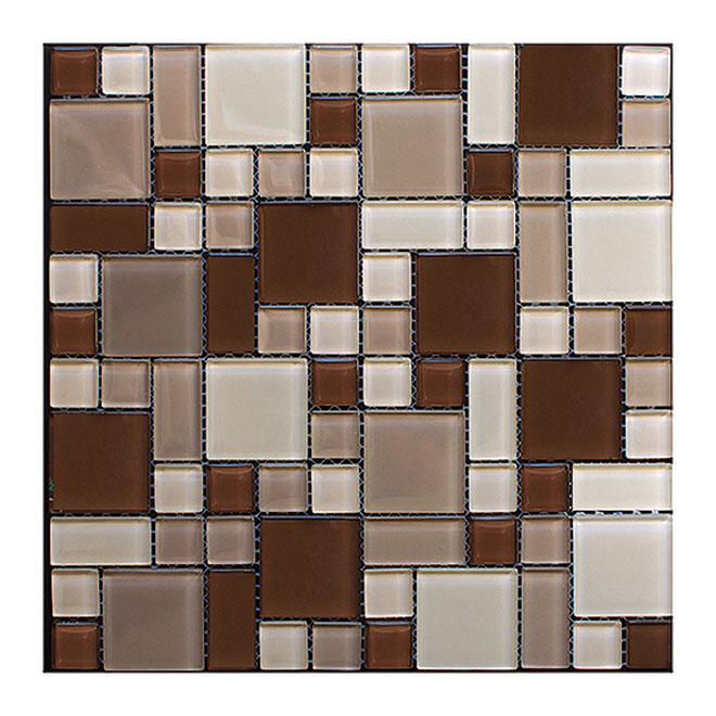 Peel and Stick Glass Mosaic