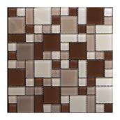 Peel and Stick Glass Mosaic
