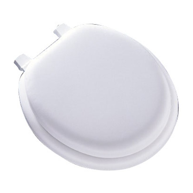 Cushioned Toilet Seat - Regular - White