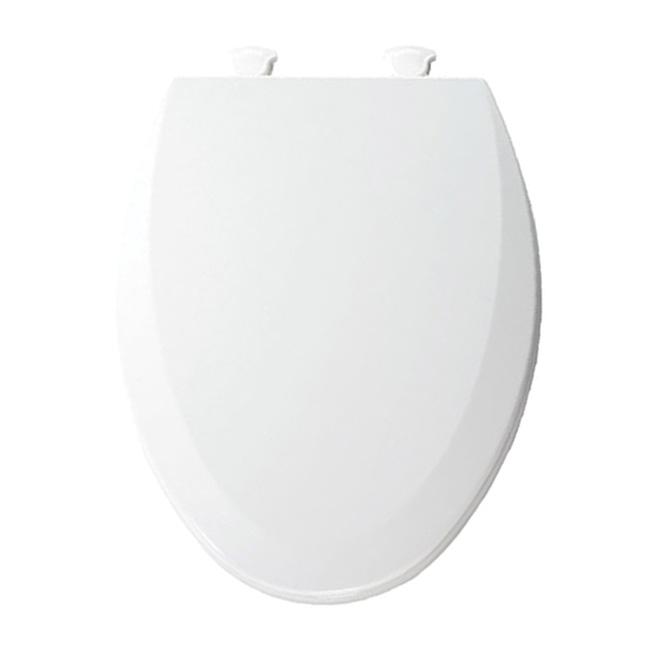 Molded Wood Toilet Seat - Elongated - White