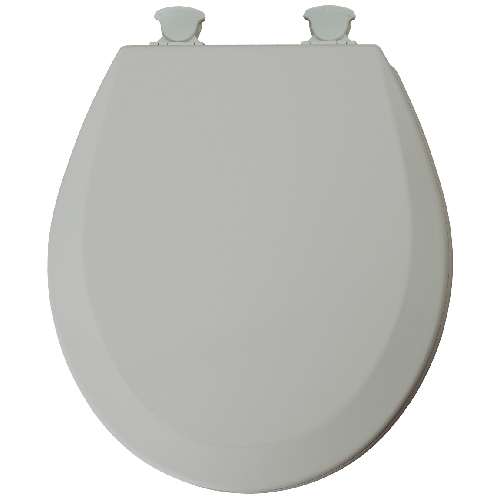 Molded Wood Toilet Seat - Grey