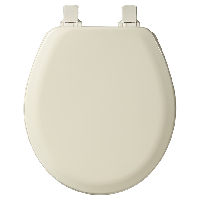 Molded Wood Toilet Seat - Regular - Bone