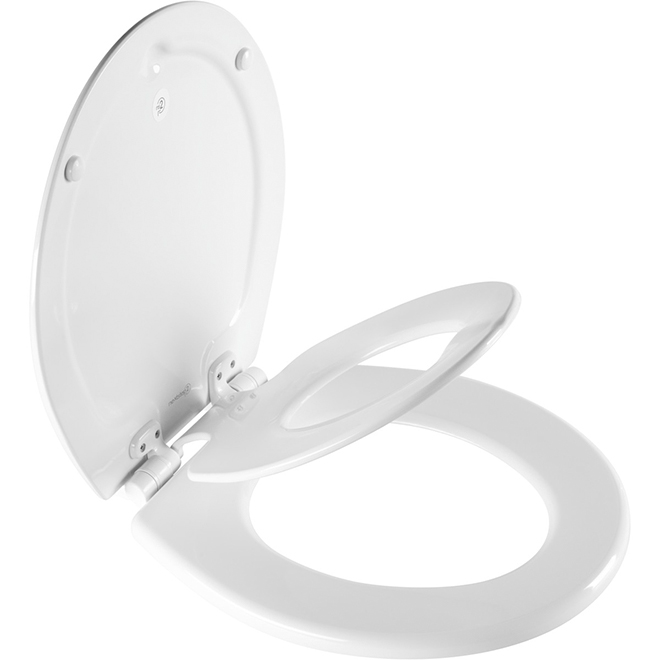 Mayfair 2-in-1 Toilet Seat - NextStep2 - Round - White
