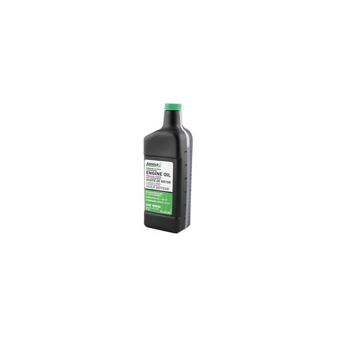 4-Cycle Lawn Mower Oil - 10W-30 - 20 oz