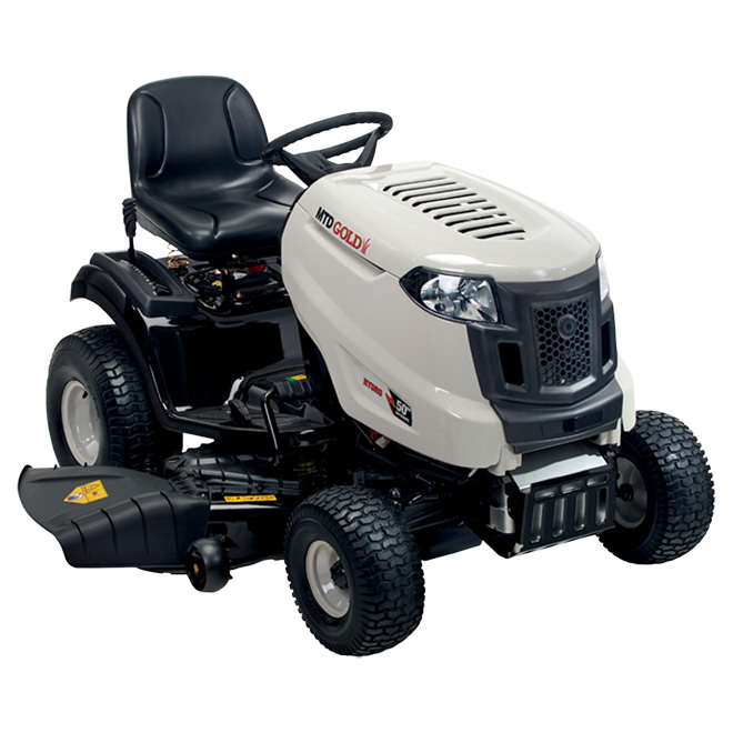 """Gas-powered Lawn Tractor 23 HP - 50"""" - Grey"""