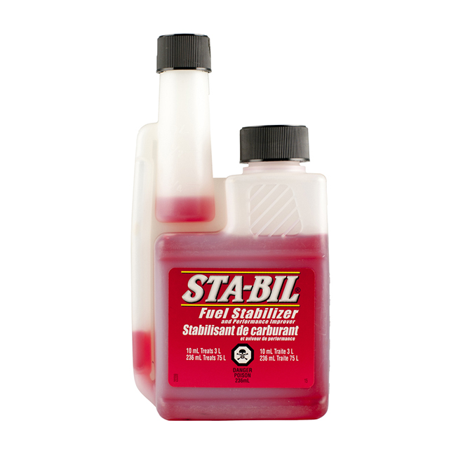 STA-BIL Fuel Stabilizer and Performance Improver - 236 ml