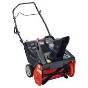 "Single Stage Snowblower - 179cc - 21"" - Black/Orange"