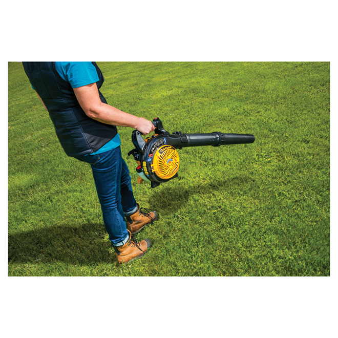 Gas Leaf Blower/Vacuum - 450 CFM - 150 MPH - 2-Cycle - 27cc
