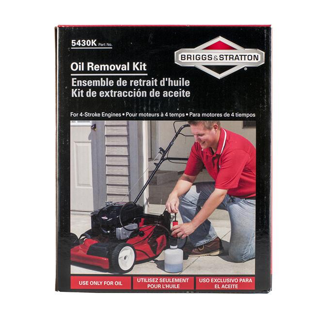 Walk-Behind Lawn Mower Oil Removal Kit - 1.6 L