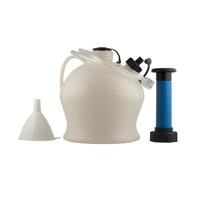 Pompe d'extraction d'huile et de fluides, capacité de 4 l