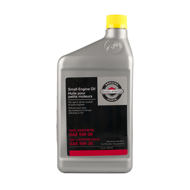 Synthetic SAE 5W-30 Small Engine Oil - 946 ml