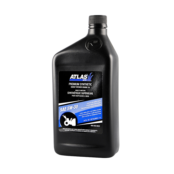 Synthetic SAE 5W-30 Synthetic 4-Cycle Engine Oil - 1 L