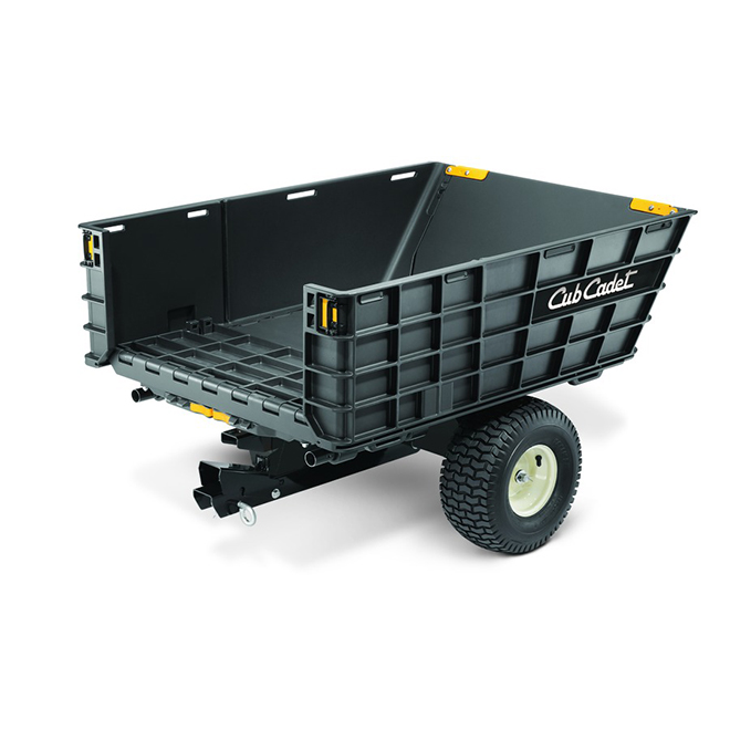 Chariot Tractor Cart - 800 lbs Capacity - 10 cu. ft.