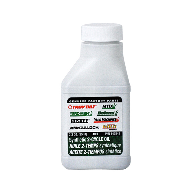 Synthetic 2-Cycle Oil - 40:1 - 3.2 oz