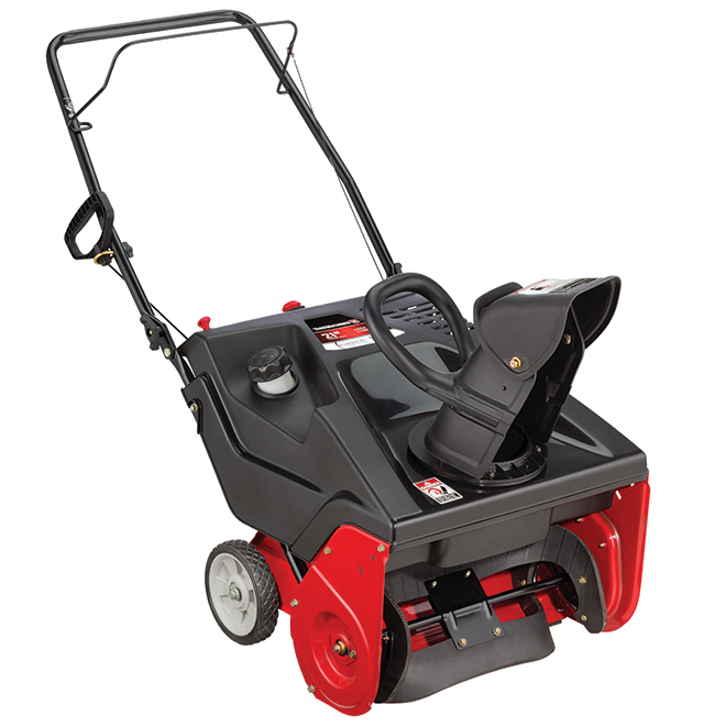 "Snowblower - 1-stage - Gas - 179 CC - 21"" - Red"