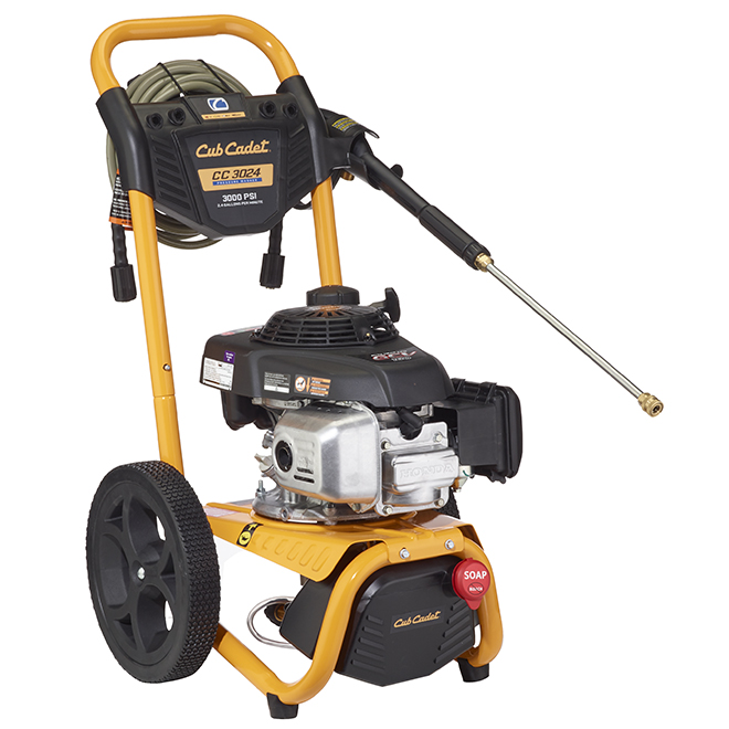 Gas-Powered Pressure Washer - 3000 PSI - 2.4 gal./min - 160 cc