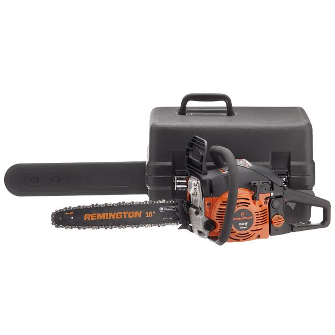 "Rebel(TM) Gas Chainsaw - 42 cc - 16"" - Orange and Black"