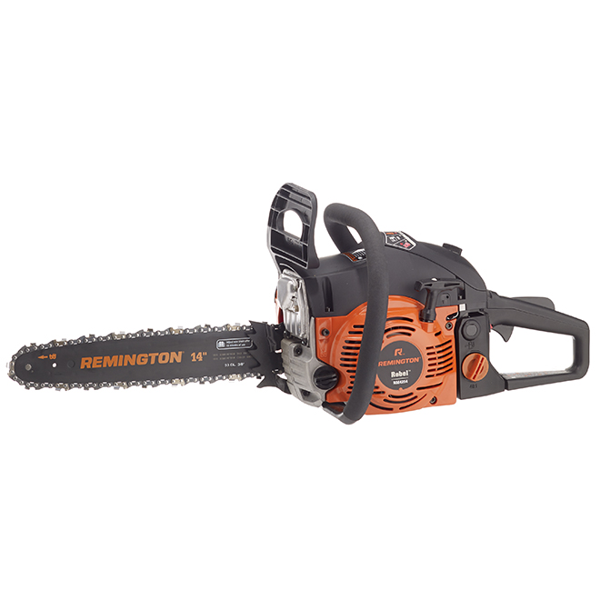 "Rebel(TM) Gas Chainsaw - 42 cc - 14"" - Orange and Black"