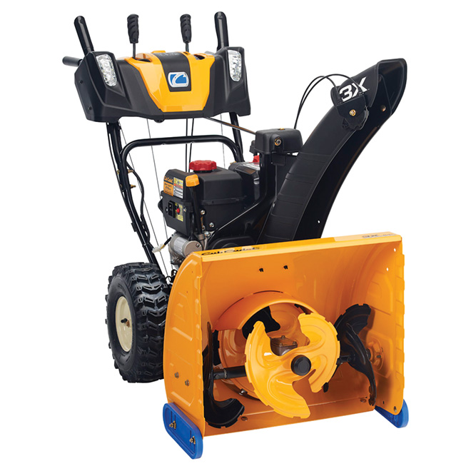 """3-Stage Snowblower - 277 cc - 24"""" - Black and Yellow"""