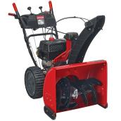 Craftsman Snowblower 2-Stage 208 CC - 24-in Red and Black