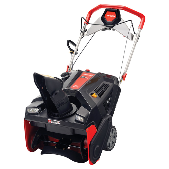 "Snowblower - 1-Stage - 208 CC - 21"" - Black"