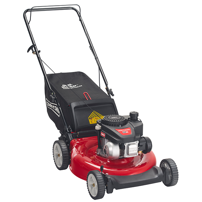 Craftsman Gas Push Lawn Mower - 21-in - 140 cc - Red