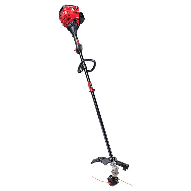 """Straight Shaft Gas-Powered Edge Trimmer - 27cc - 18"""" - Red"""