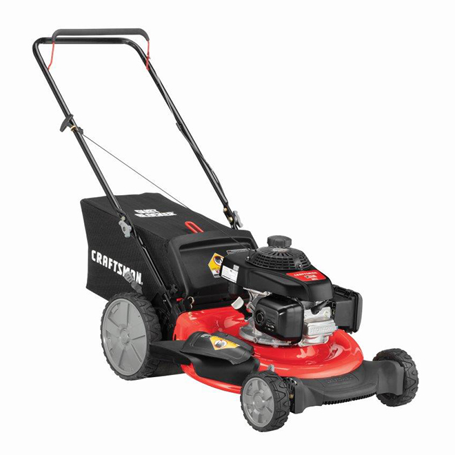 Craftsman 2-in-1 Gas Pushed Mower - 21'' - 160 cc