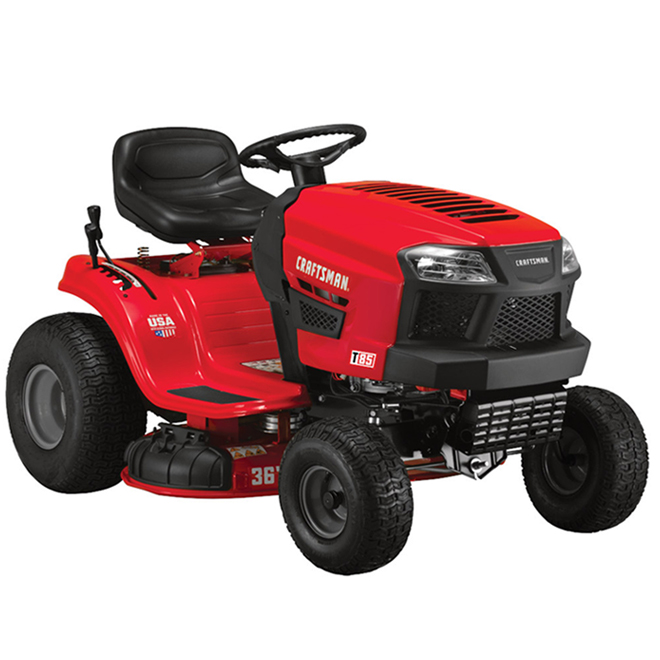 Craftsman T85 Lawn Tractor - 382 cc - 36-in