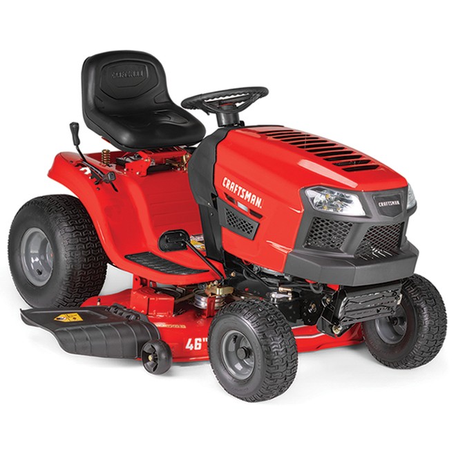 "Craftsman Lawn Tractor - 540 cc - 46"" - Steel - Red"