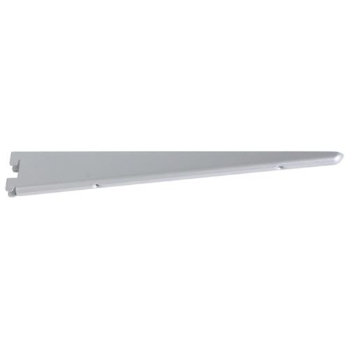 "Steel Double Shelf Bracket - 7"" - Titanium"