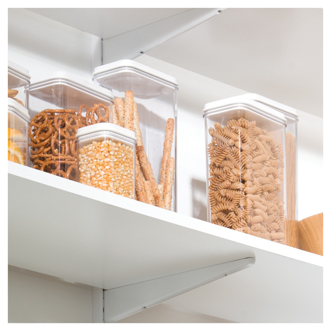 Melamine shelf