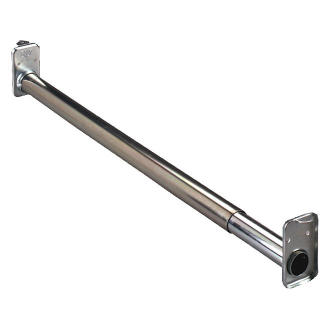 "Extendable Closet Rod 18""-30"" - Zinc"
