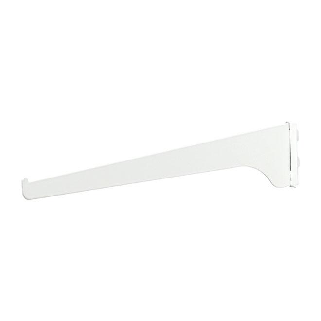 "Steel Shelf Bracket - 16"" - White"