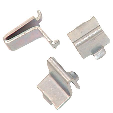 Steel Shelf Bracket - Zinc - 12-Pack