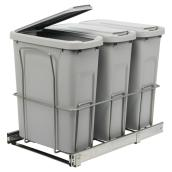 Sliding Wastebins with Lids