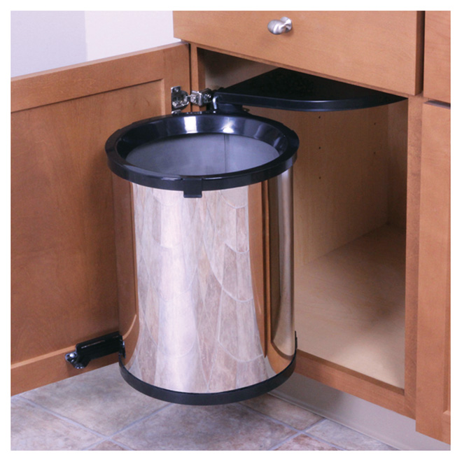 Cabinet Swing Out Garbage Can