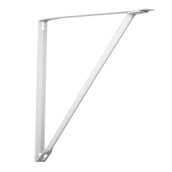 "Shelf Bracket - 10"" - White"