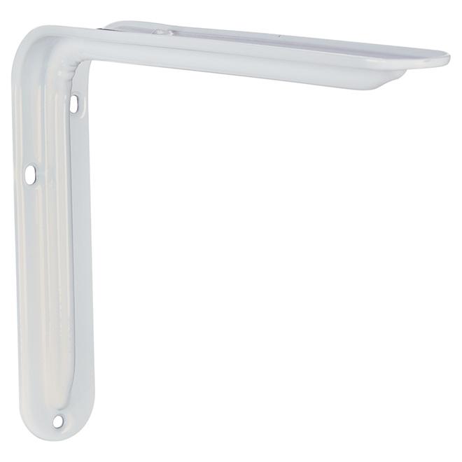 """Shelf Support - White - 12"""""""
